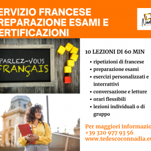 Corso online di Francese – Preparazione Esami e Certificazioni