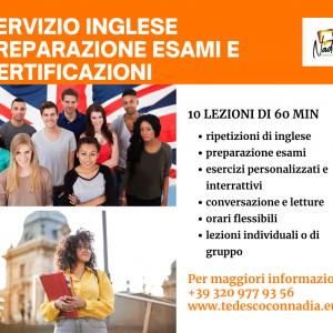 Corso online di Inglese – Preparazione Esami e Certificazioni
